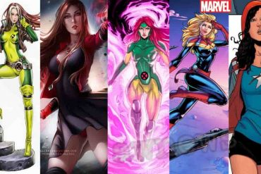 Marvel The Five most dangerous female superheroes in the Marvel Universe who have strong powers