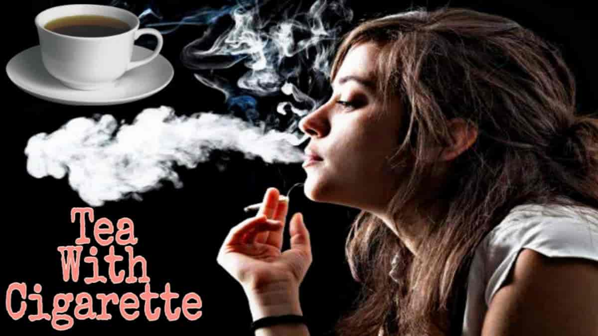 Which is more harmful tea or cigarette