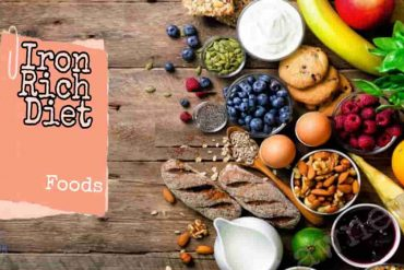 Health Facts: iron is found in which food, iron rich diet