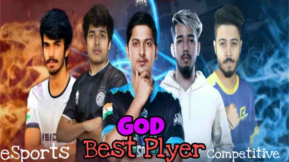 BGMI Best Player Best BGMI Player In India, God Of ESports and No 1 player in India