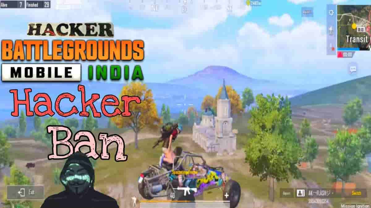 BGMI hackers How to ban hackers in BGMI, Report for cheat and Permanent Ban